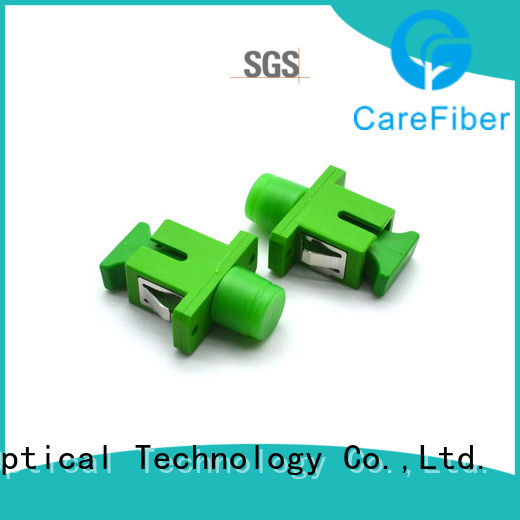 Carefiber optic fiber optic adapter supplier for communication