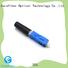new sc fiber optic connector connectors factory for consumer elctronics