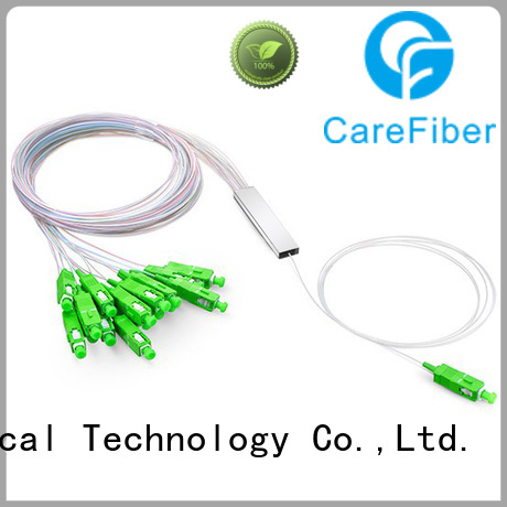 Carefiber best optical wire splitter bare for communication