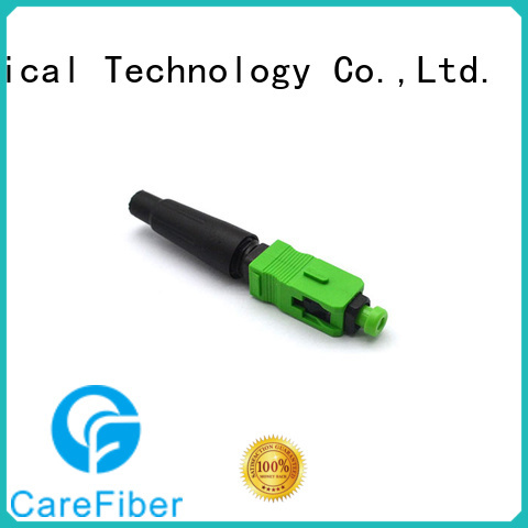 Carefiber best fiber optic cable connector types provider for communication