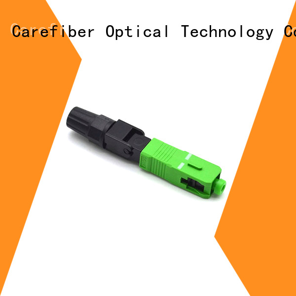 new fiber optic fast connector connector provider for distribution