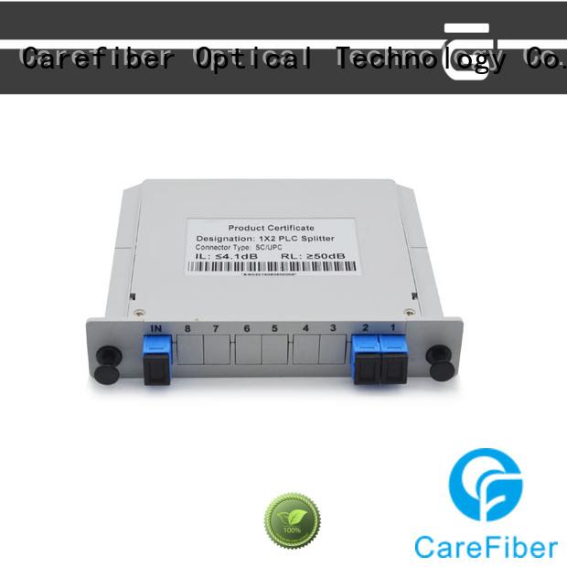 Carefiber most popular optical splitter splittercfowa04 for global market