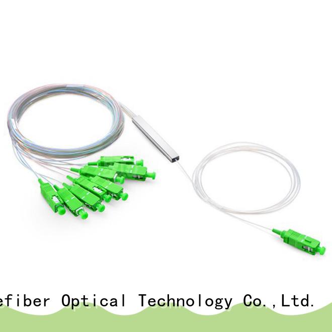 Carefiber 1x64 optical splitter foreign trade for industry