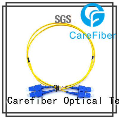 Carefiber cords sc apc patch cord manufacturer for consumer elctronics
