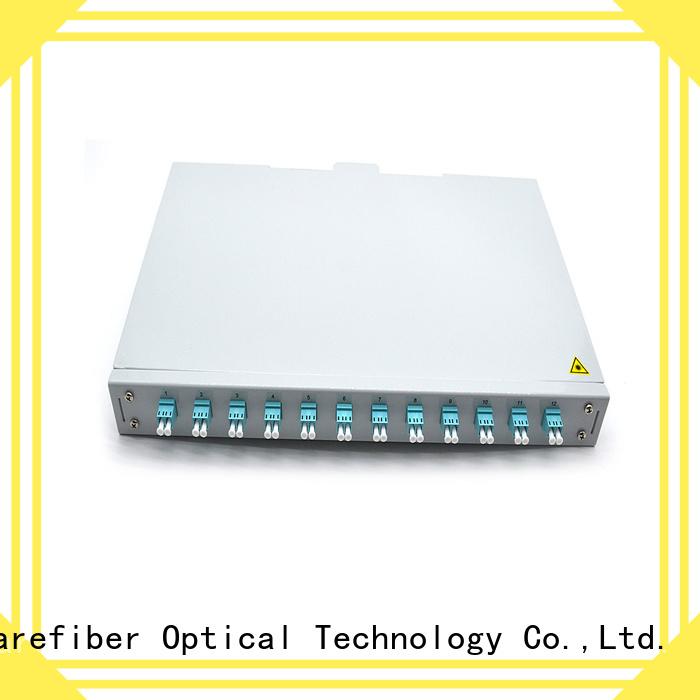 Carefiber racks multimode fiber optic cable buy now for customization