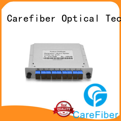 Carefiber quality assurance optical cord splitter scupc for global market