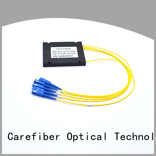 Carefiber splittercfowa04 optical cable splitter cooperation for global market