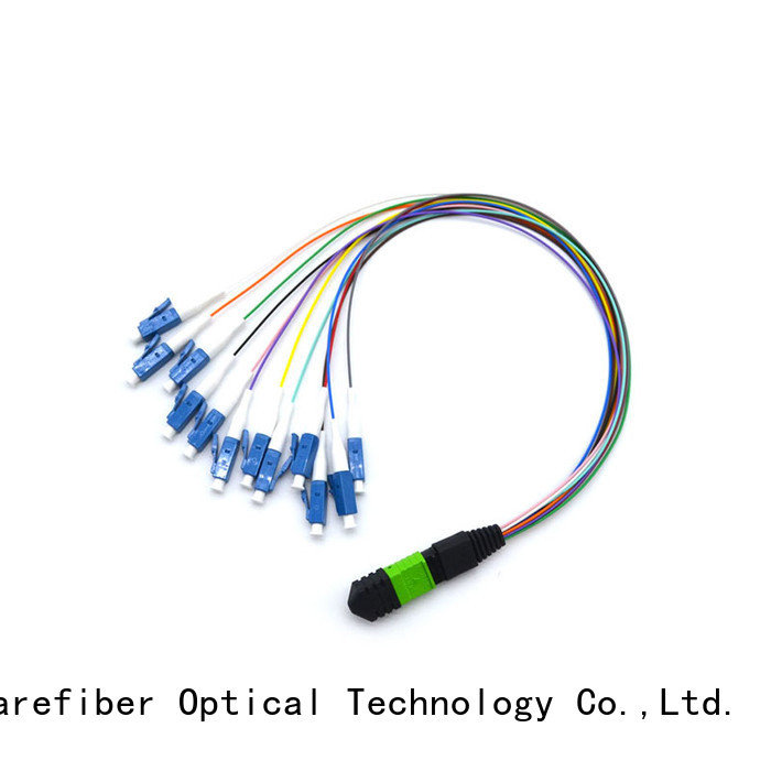 Carefiber best mpo harness cable supplier for communication