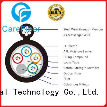 Carefiber commercial external fibre optic cable gyfty for merchant