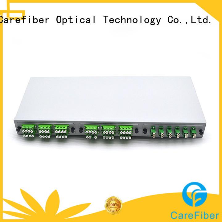 Carefiber optical fiber panel factory for local area network