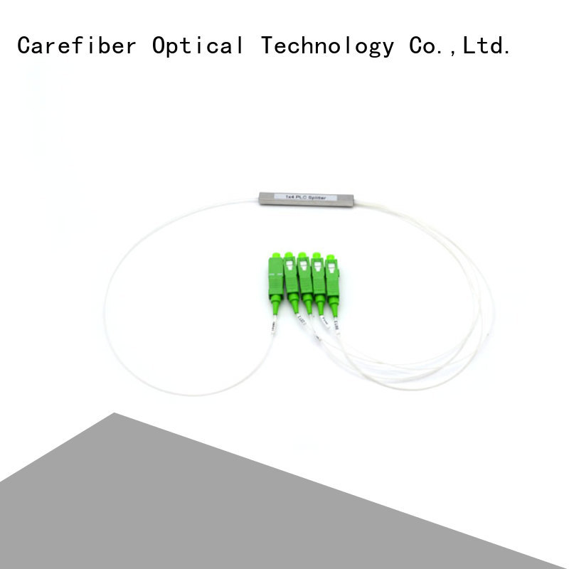 Carefiber most popular best optical splitter trader for global market