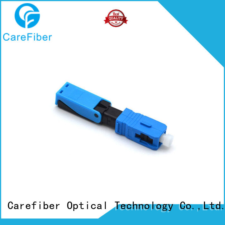 Carefiber fibre lc fast connector factory for distribution