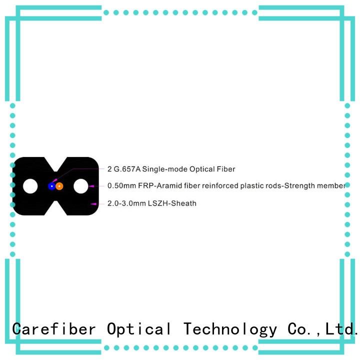 Carefiber highly recommended drop cable trader