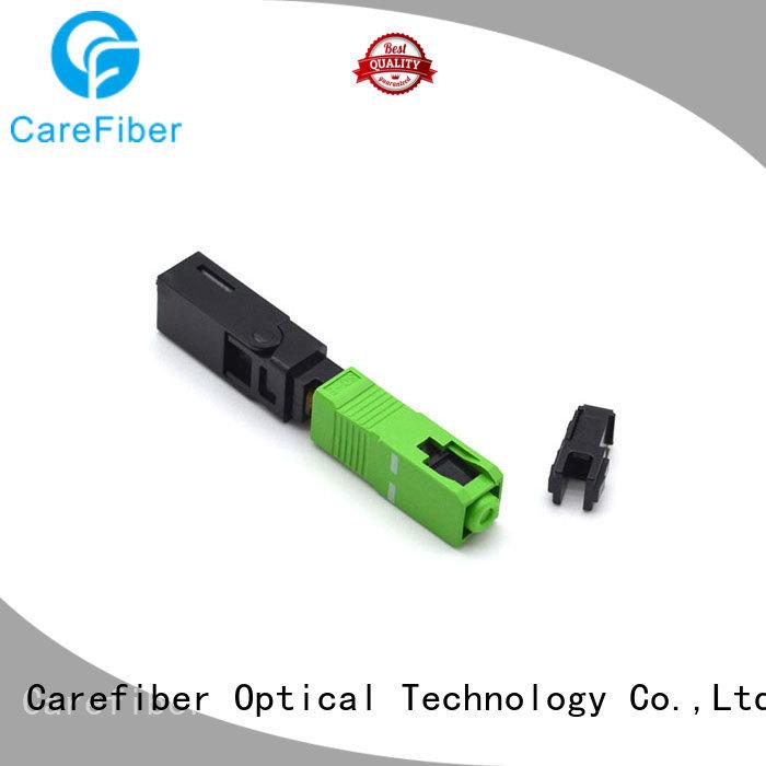Carefiber dependable fiber optic fast connector factory for consumer elctronics