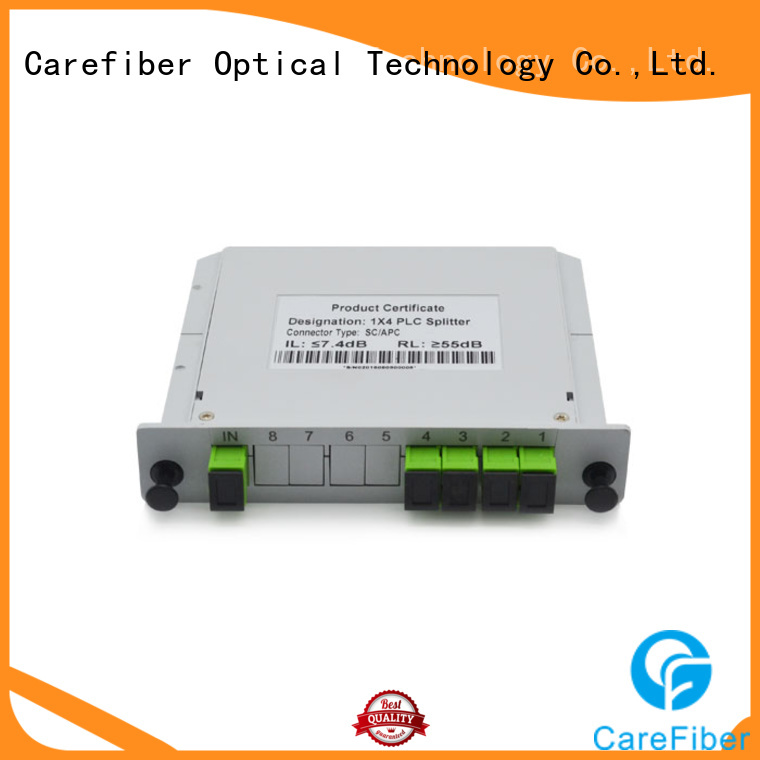 Carefiber 1x16 fiber splitter trader for global market