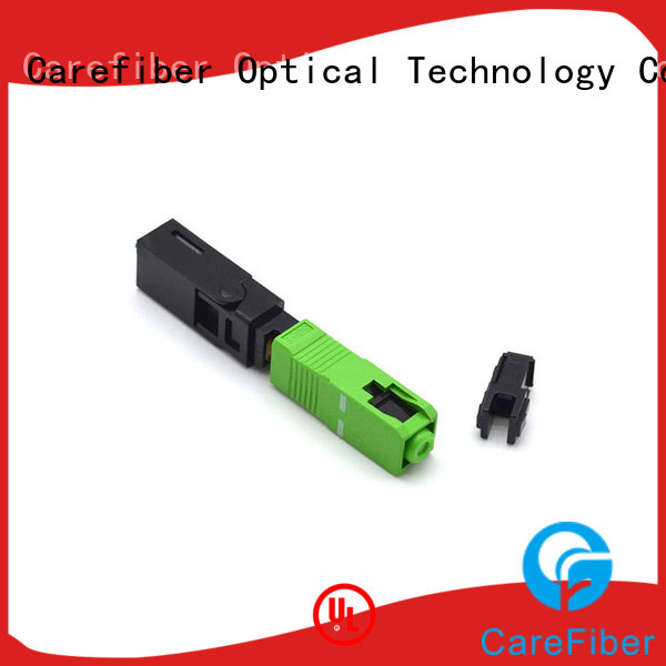 Carefiber best optical cable connector types connector sc for consumer elctronics