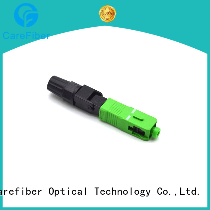 Carefiber cfoscupc optical connector types provider for communication