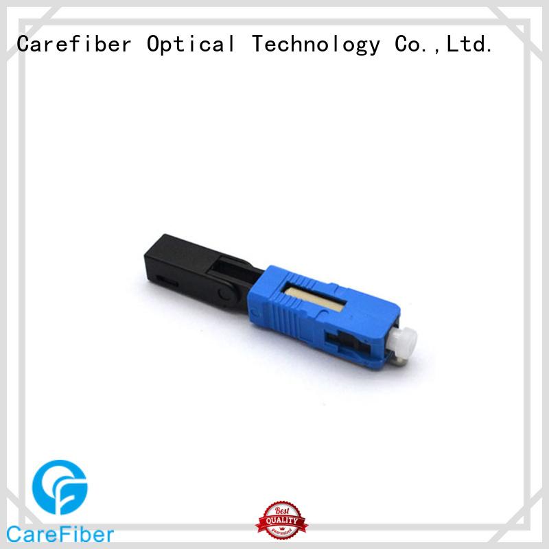 Carefiber dependable fiber optic quick connector connectorfiber for consumer elctronics