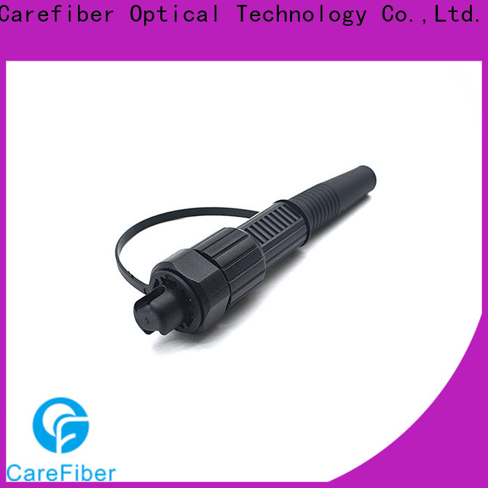 Carefiber waterproof ip68 connector made in China for outdoor
