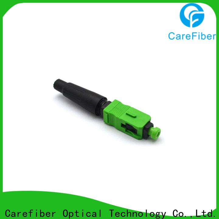 Carefiber best lc fast connector provider for distribution