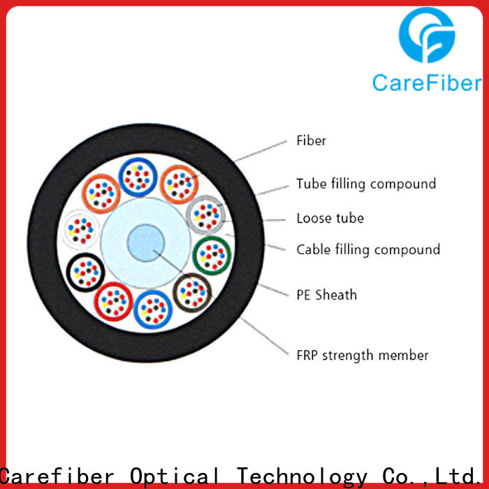 Carefiber commercial outdoor fiber optic cable buy now for communication