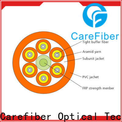 Carefiber gjbfjv fiber optic 4 core provider for indoor environment
