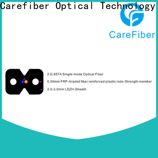 Carefiber variety of ftth fiber trader for communication