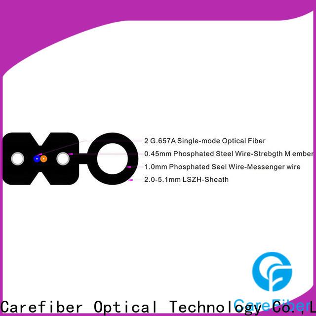 Carefiber reliable drop cable supplier