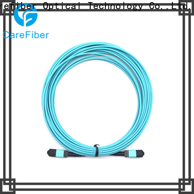 Carefiber mpompoom412f30mmlszh10m fiber patch cord connector types trader for connections