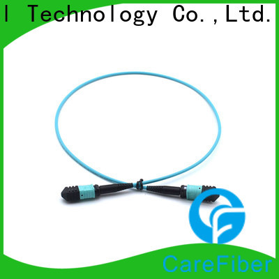 Carefiber best mpo patch cord foreign trade for sale
