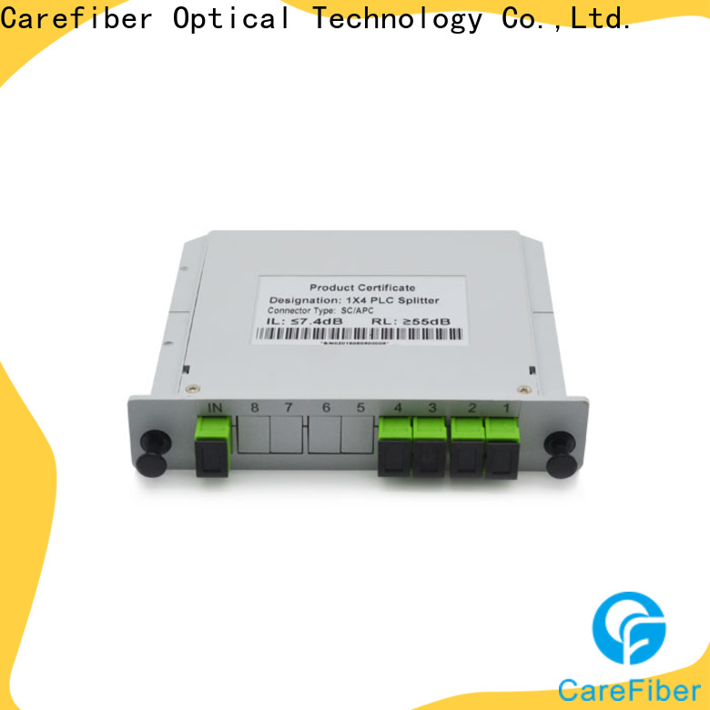 Carefiber splittercfowa08 best optical splitter trader for industry