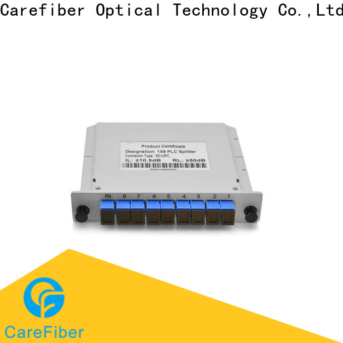 Carefiber steel plc splitter cooperation for industry