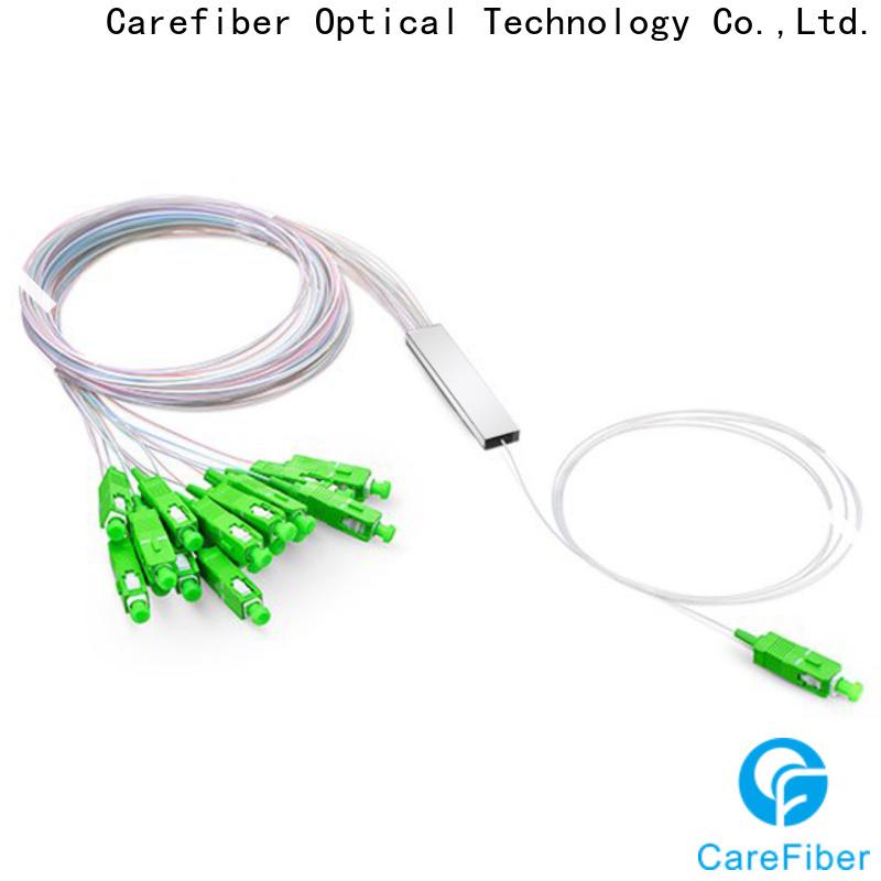 Carefiber bare best optical splitter foreign trade for industry