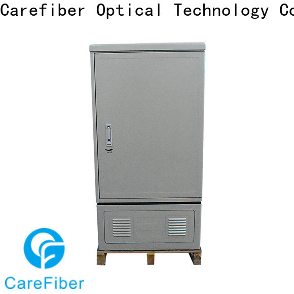 Carefiber 144cores288cores576cores fiber optic cabinet trader for telecom industry