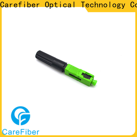 Carefiber fibre fiber optic cable connector types trader for communication
