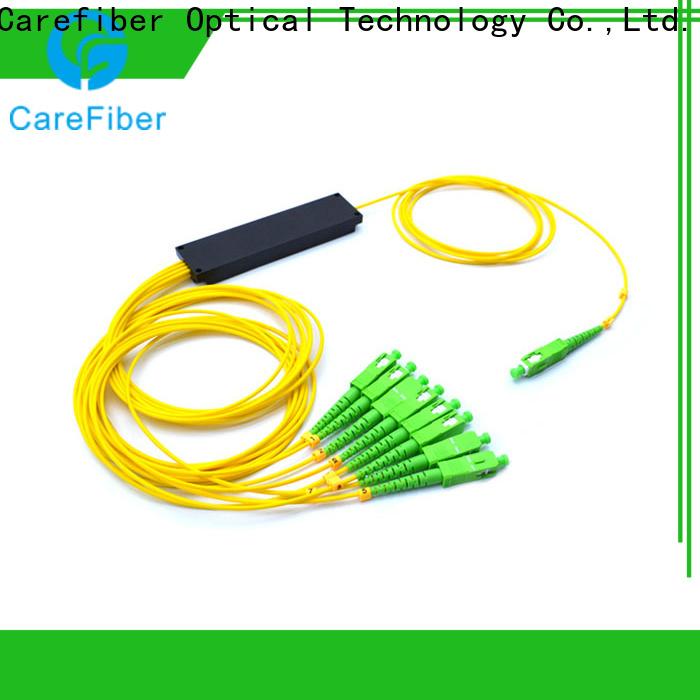 Carefiber 1x2 best optical splitter trader for global market