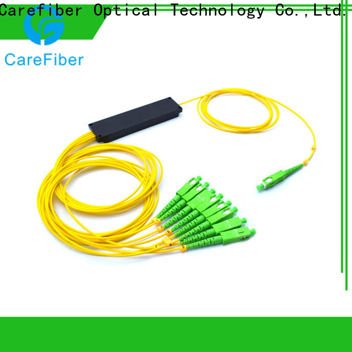 Carefiber 1x2 best optical splitter trader for global market