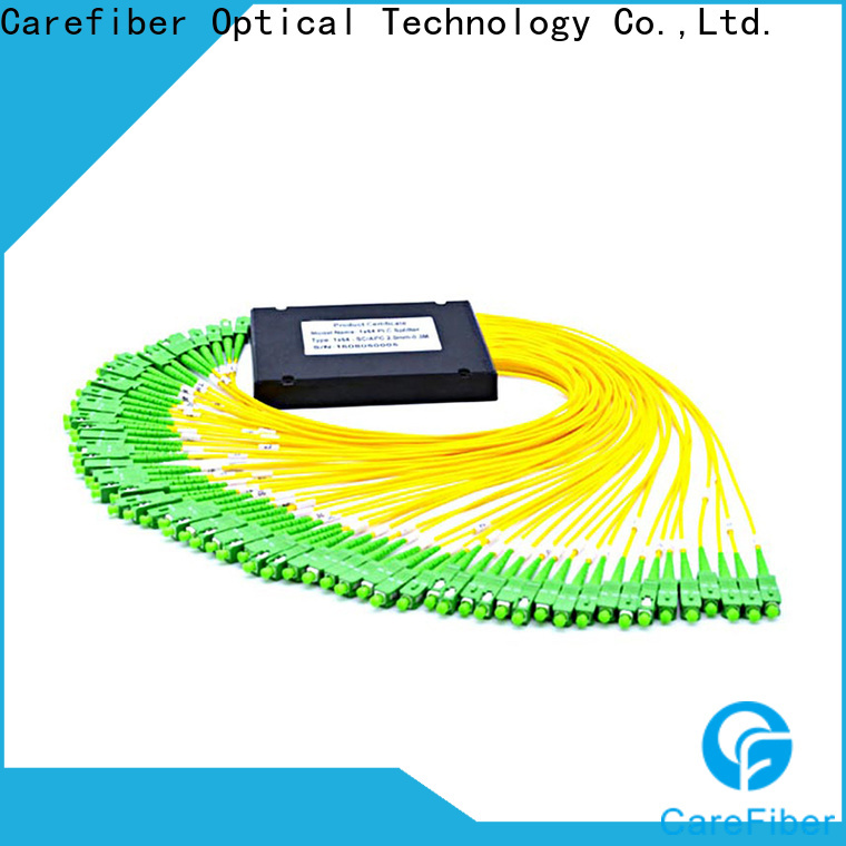 Carefiber best plc fiber splitter cooperation for communication