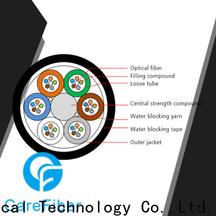 Carefiber credible fiber optic network cable order online for communication