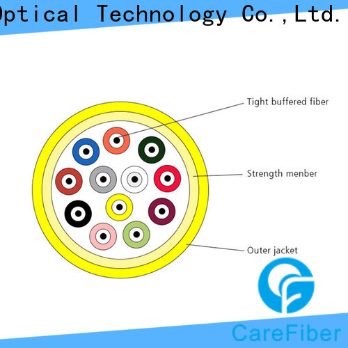 Carefiber customized indoor cable maker for indoor environment