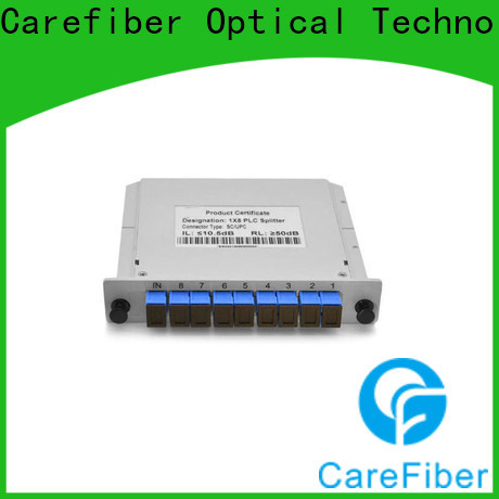 Carefiber card plc splitter foreign trade for industry