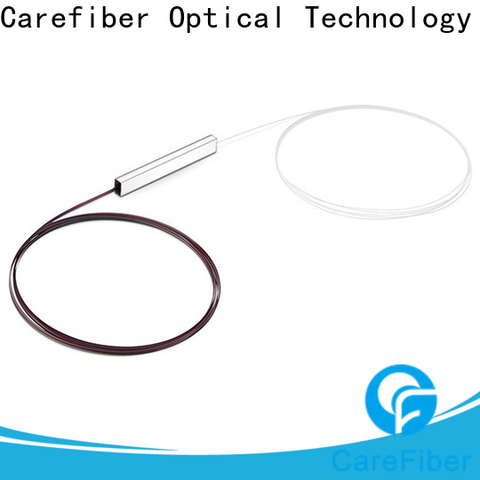 Carefiber 1x8 fiber optic splitter types foreign trade for global market