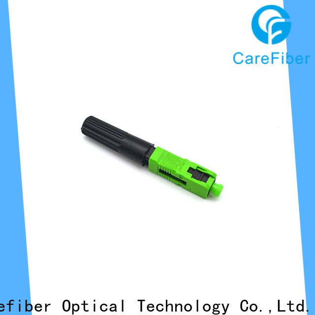 Carefiber new sc fiber optic connector factory for communication