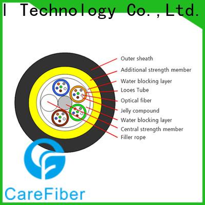 Carefiber long-life aerial fiber cable program consultation for communication