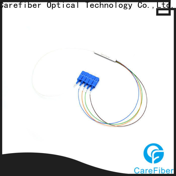 Carefiber typecfowu16 plc optical splitter cooperation for industry