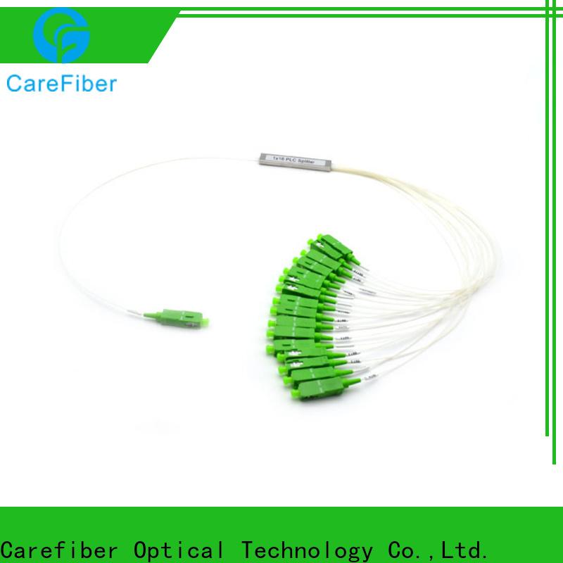 Carefiber best optical cord splitter cooperation for communication