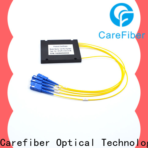 most popular optical cord splitter plc cooperation for global market