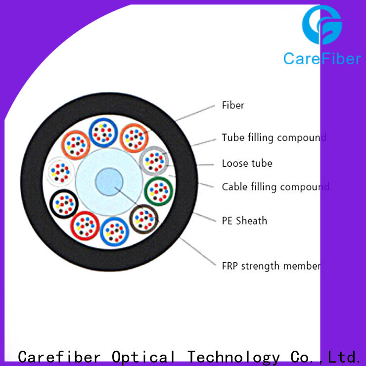 Carefiber cost-effective outdoor fiber patch cable buy now for communication