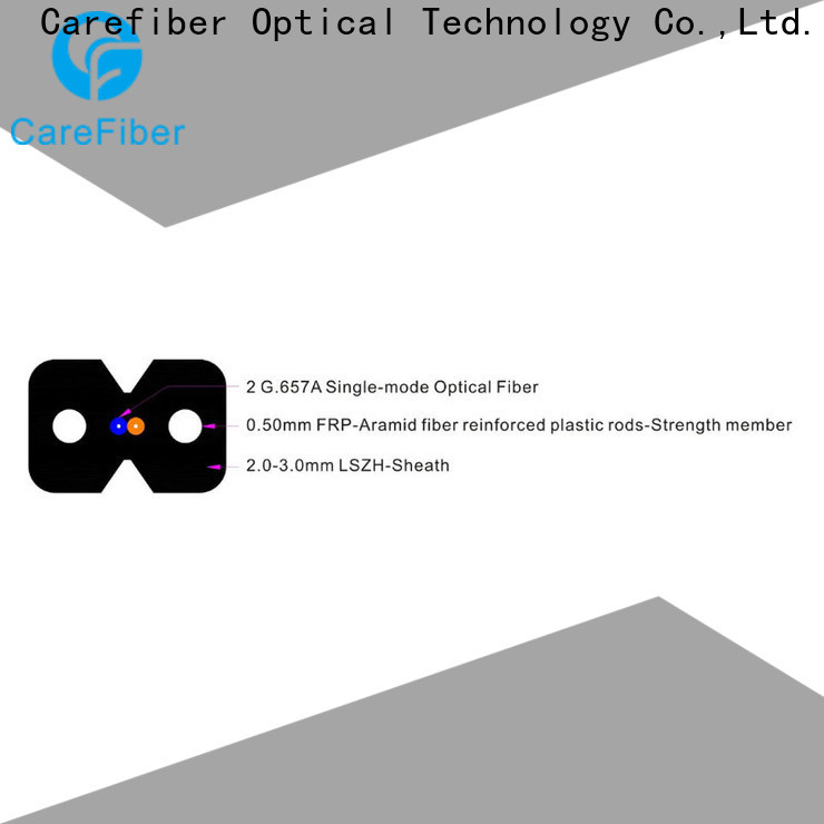 Carefiber gjyxfch aerial drop cable supplier for network
