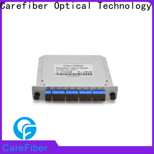 Carefiber quality assurance best optical splitter cooperation for industry